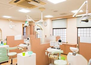 整理整頓された診察室